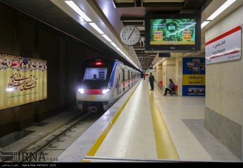 گزارش تصویری : ایستگاه مترو ستاد