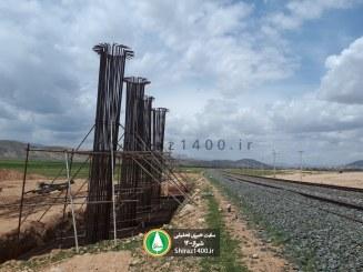 گزارش تصویری : پیشرفت بزرگراه صدرا – باجگاه