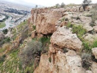 آغاز عملیات مهار تخته سنگ دروازه قرآن
