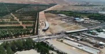 ویدئو: آخرین روند ساخت  تقاطع سه سطحی مهدیه – امیرکبیر
