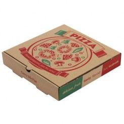 تحویل پیتزا در جعبههایی با کاغذ سه بار بازیافتشده!
