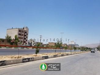 وضعیت نامناسب فضای سبز بلوار سرداران ۲۰ سال پس از ساخت!