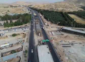 ویدیو: آخرین روند ساخت پل سه سطحی امیرکبیر مهدیه شیراز