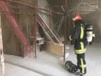 تشکهای فومی عامل آتش سوزی هتل آسمان