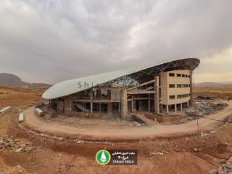 عکس : ورزشگاه ۶ هزار نفری شیراز