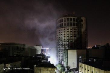 گزارش تصویری : هتل آسمان در آتش