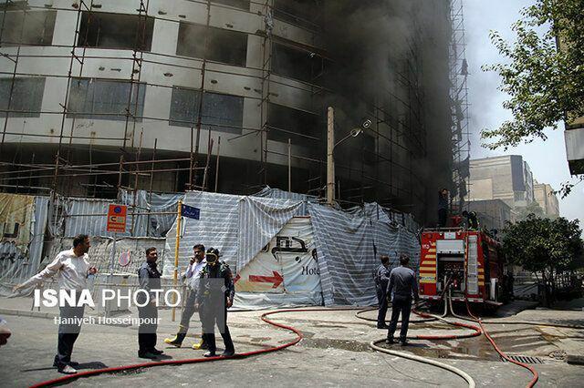 دستور تخلیه ساختمانهای اطراف هتل آسمان شیراز