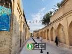 گزارش تصویری : بهسازی کوچه نارنجستان قوام