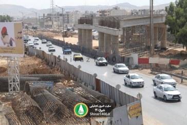 گزارش تصویری : پیشرفت تقاطع فرهنگیان – کمربندی/ مهر ۹۸