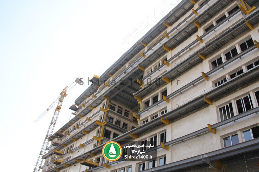گزارش تصویری : ساختمان مرکزی شهرداری شیراز ۴ سال و نیم پس از کلنگ زنی!