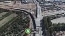 گزارش تصویری : تقاطع سه سطحی مهدیه امیرکبیر