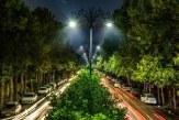 بهرهبرداری از طرحهای جدید روشنایی معابر در شیراز