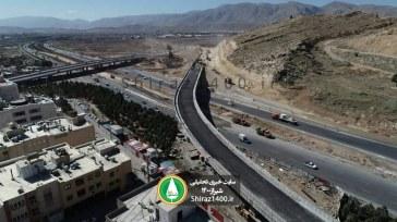 پلهای رودکی، بزرگراه مهدیه و تقاطع سه سطحی استاد بهمن بیگی