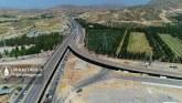 گزارش تصویری: تصاویر هوایی از پل و بزرگراه مهدیه