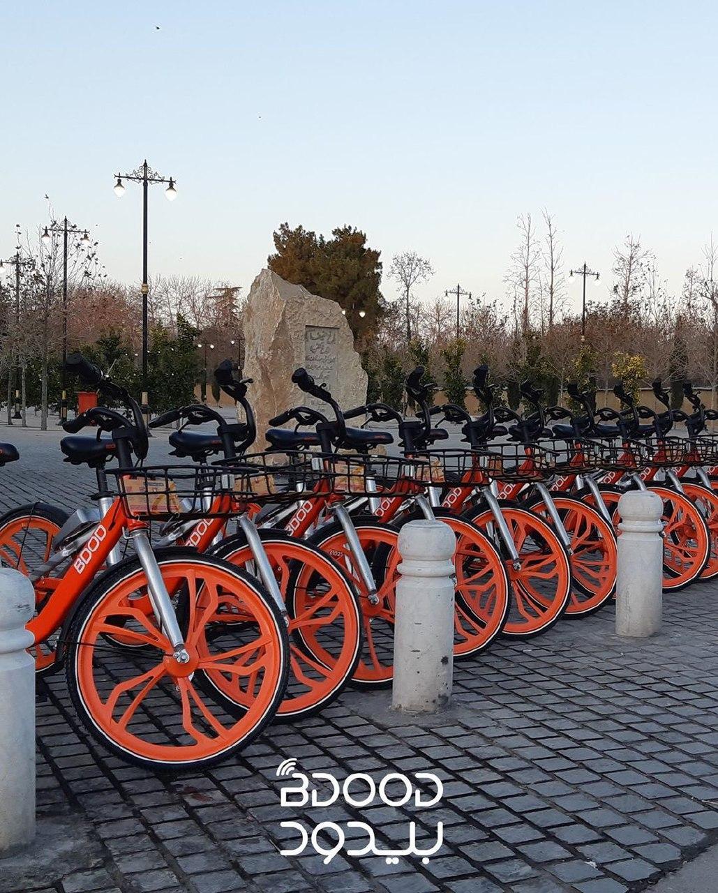 افزایش فعالیت دوچرخه های اشتراکی هوشمند در شیراز