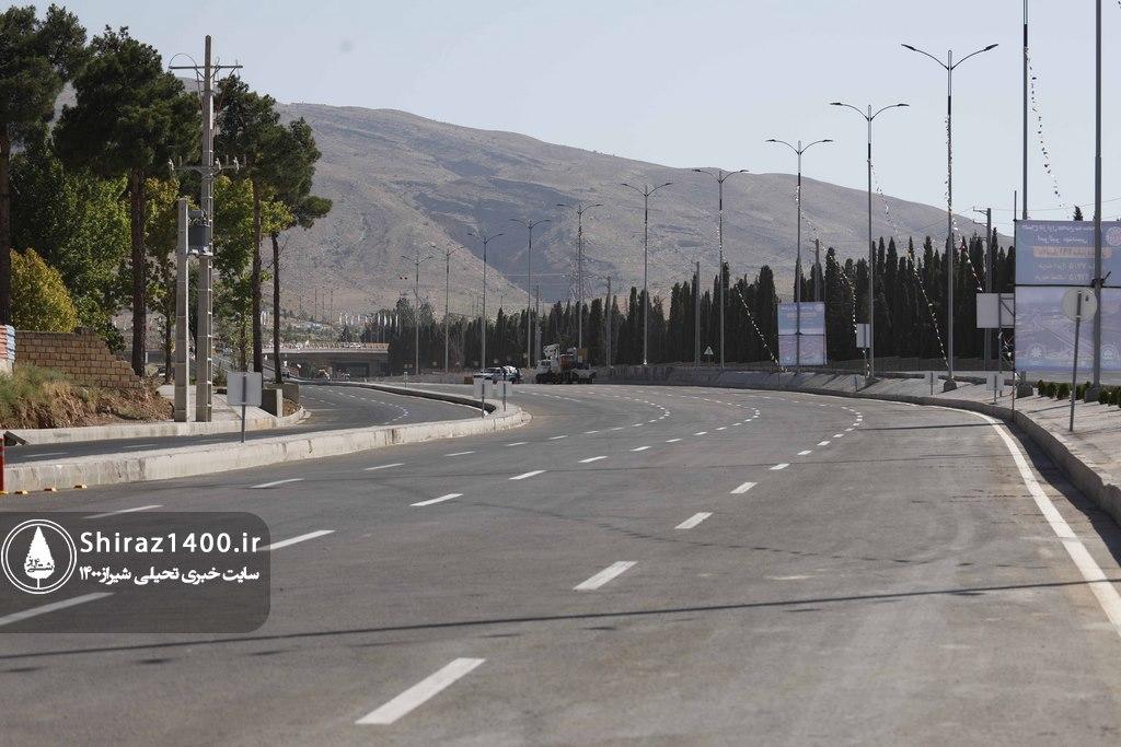 گزارش تصویری : افتتاح بزرگراه مهدیه ( مهندسین )