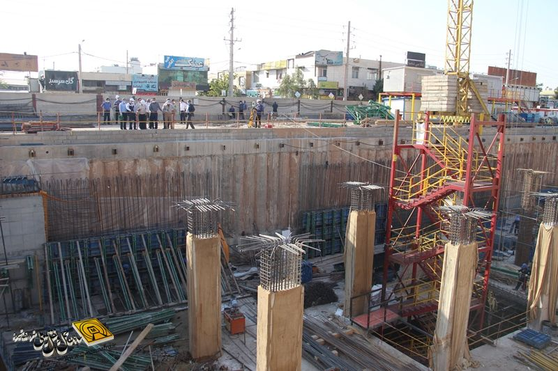 گزارش تصویری: آخرین روند ساخت خط ۲ مترو شیراز