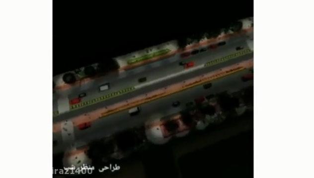 ویدئو: بهسازی پیادهرو معالی آباد شیراز
