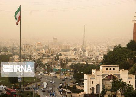 زنگ خطر آلودگی هوای شیراز به صدا درآمد