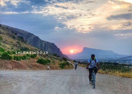 رینگ دوچرخهسواری شیراز تکمیل میشود