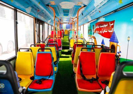 رونمایی شهرداری شیراز از ۶ دستگاه اتوبوس اجتماعی+عکس