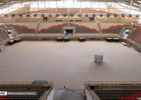 گزارش تصویری: ورزشگاه ۶ هزار نفری شیراز در انتظار تکمیل