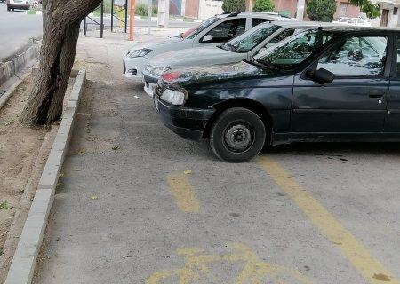 تهدید خطوط ویژه دوچرخه توسط قانون شکنان