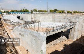 گزارش تصویری: پیشرفت پروژه پردیس سینمایی جوان / شهریور ۹۹