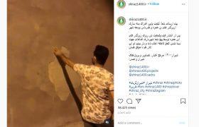 صحبتهای حیرت آور و به دور از انصاف معاون شهردار شیراز درباره مطلب بدنه سازی علی بن حمزه