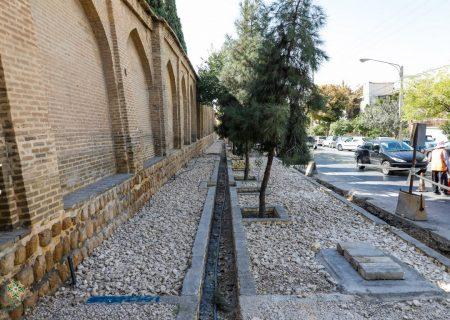 عکس: پیاده رو سازی محور حافظ / مهر ۹۹