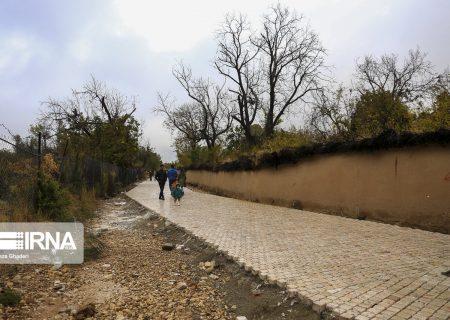عکس: چهره بارانی معابر شیراز متاثر از پروژههای شهری