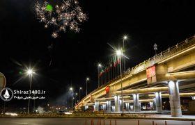عکس: نورپردازی تقاطع فرهنگیان – کمربندی