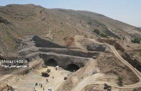 عکس: آخرین روند ساخت تونل نیایش