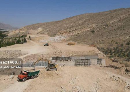 عکس: ادامه ساخت بزرگراه کوهسار / فروردین ۱۴۰۰