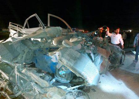 شب تلخ شیراز با ۵ کشته در ۲ حادثه رانندگی