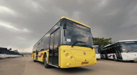 ویدئو: رونمایی از ۵٠ دستگاه اتوبوس شهری در شیراز