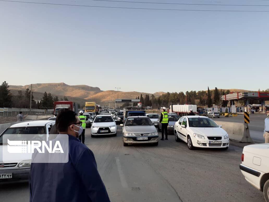 ویدئو: تردد های جاده ای شیراز بدون توجه به محدودیت ها