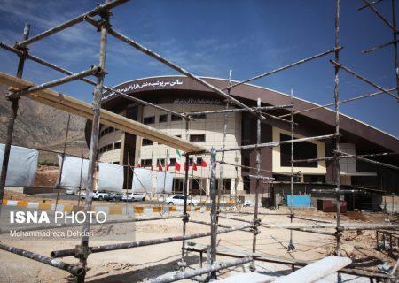 افتتاح ورزشگاه ۶ هزار نفری بدون آب، برق و تهویه