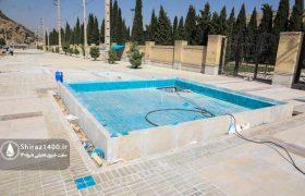 عکس: بهسازی و فضای شهری اطراف آرامگاه سعدی