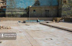 فاز نخست پروژه توسعه اطراف آرامگاه سعدی بزودی افتتاح میشود