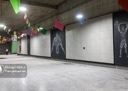 عکس: ایستگاه مترو قهرمانان خط ۲ مترو شیراز