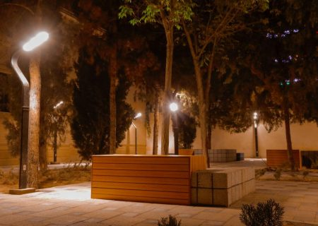 عکس: فضای شهری بلوار نیایش