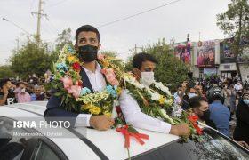 عکس: استقبال از برادران گرایی