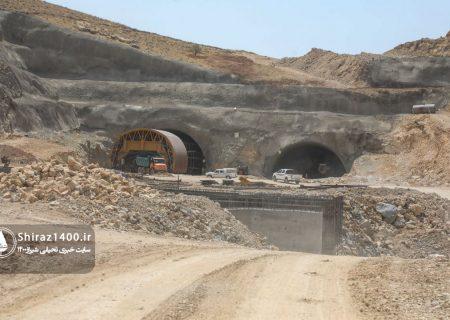 عکس: فاز نهایی پروژه بزرگراه کوهسار و تونل دوقلو نیایش