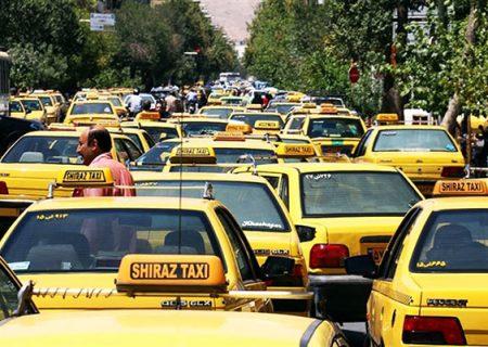 ۶۷درصد تاکسیهای شیراز فرسوده هستند